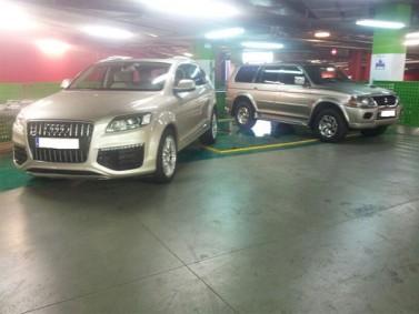 Audi y Mitsubishi 1